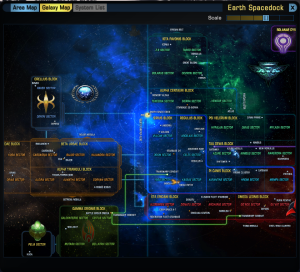 The Galaxy Map