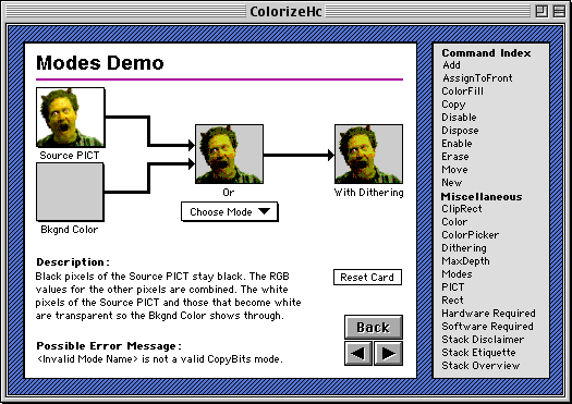 "The ""blend modes"" help page from Colorizing HyperCard"