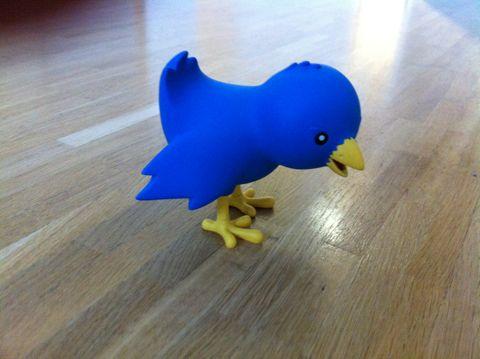 Ollie the Twitterific mascot